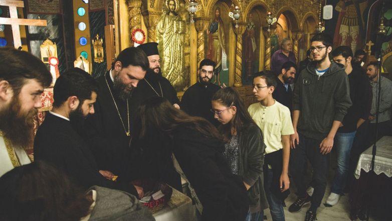 Ιερά Παράκληση για μαθητές από τον Μητροπολίτη κ. Γαβριήλ