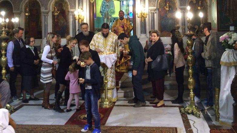 Κυριακή Δ' Νηστειών στον Ι.Ν. Αγ. Ευφημίας Ν. Χαλκηδόνος
