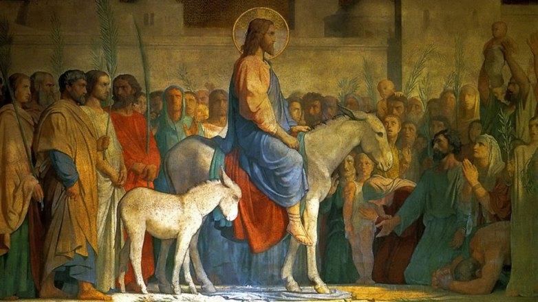 Κυριακή των Βαΐων στον Ι.Ν. Κοιμήσεως Θεοτόκου Ν. Ηρακλείου