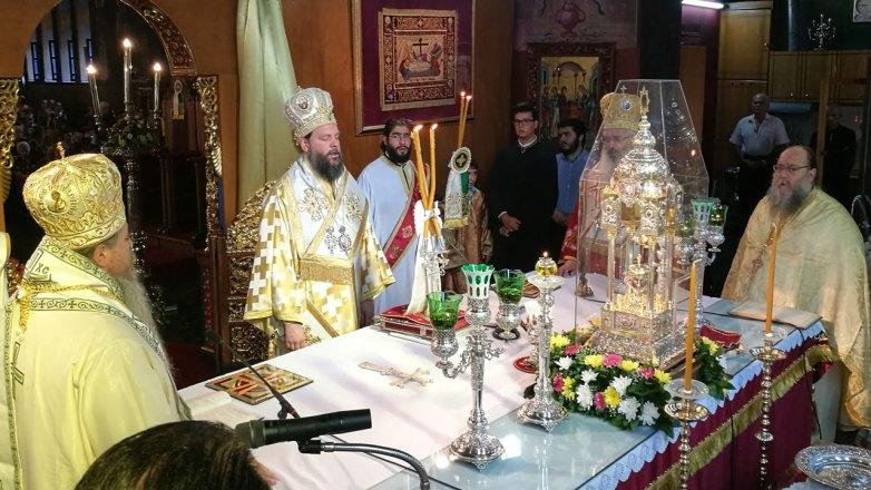 Ο Μητροπολίτης Ν. Ιωνίας και Φιλαδελφείας κ. Γαβριήλ στην Εορτή της Αγ. Κυριακής στην Αλεξανδρούπολη