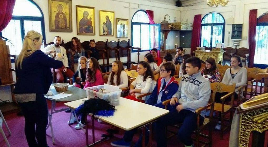 Προβληματισμοί και Μέσα Κοινωνικής Δικτύωσης στο Κατηχητικό του Ι.Ν. Ευαγγελισμού της Θεοτόκου Ν. Χαλκηδόνος