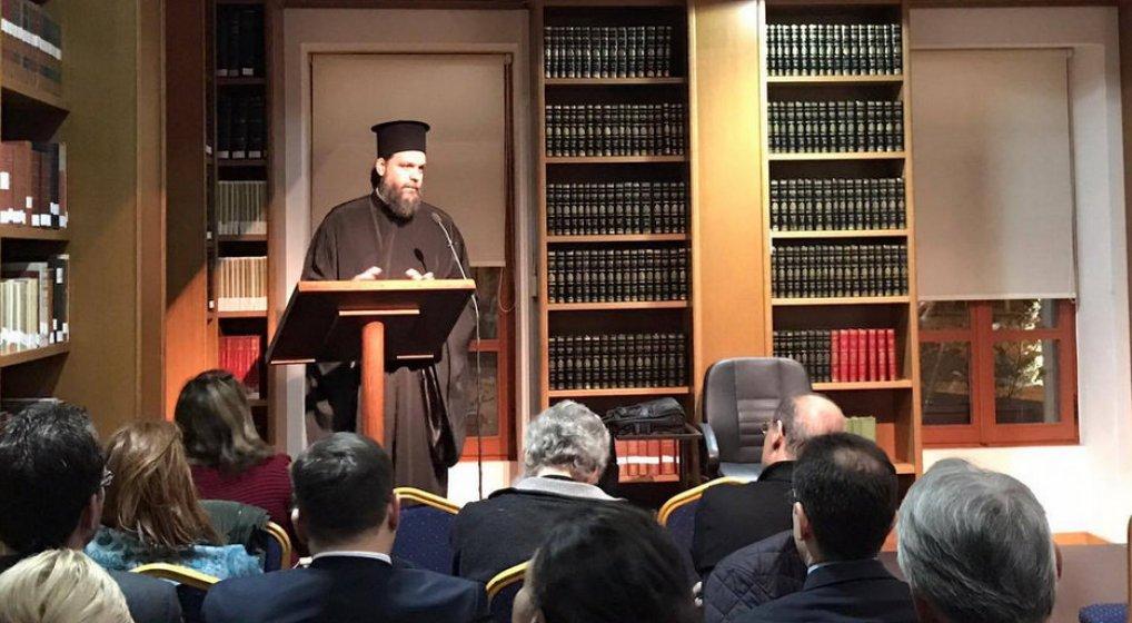 Σεμινάριο Κανονικού Δικαίου για τις σχέσεις Εκκλησίας και Πολιτείας από τον Μητροπολίτη κ. Γαβριήλ