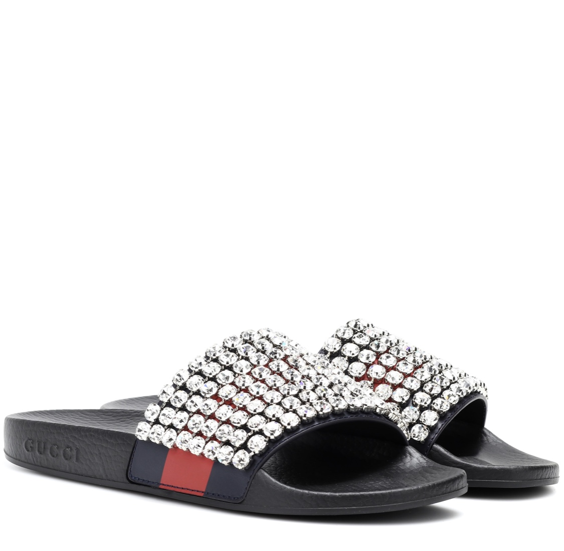 Ema sparkly Gucci slides - Nifemi Couture