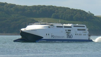 Photo of P&O's Express gets a surprise trip to the Isle of Man