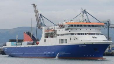 Photo of Former Belfast-Liverpool ferry prepares for a life in New Zealand