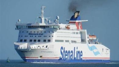 Photo of The 'other' Stena Superfast: Stena Superfast X, coming soon to Belfast (for a while).