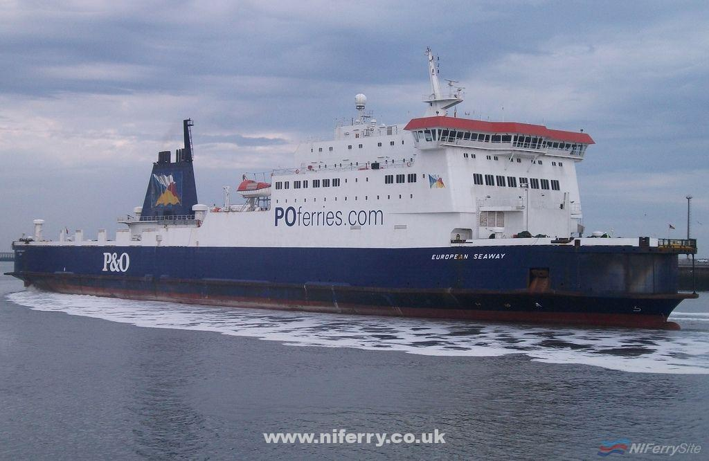 EUROPEAN SEAWAY arriving at Calais, May 7th, 2011. Copyright © Paul Smith, some rights reserved.