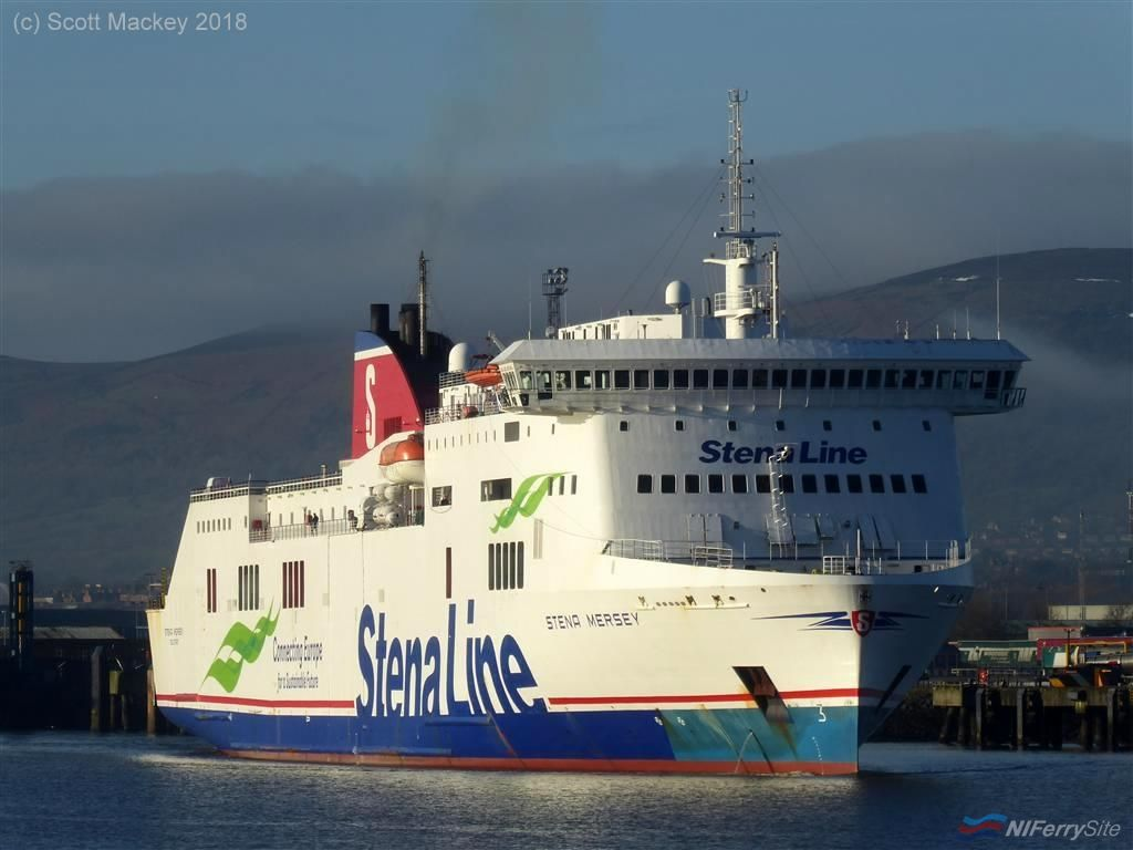 STENA MERSEY. Copyright Scott Mackey.