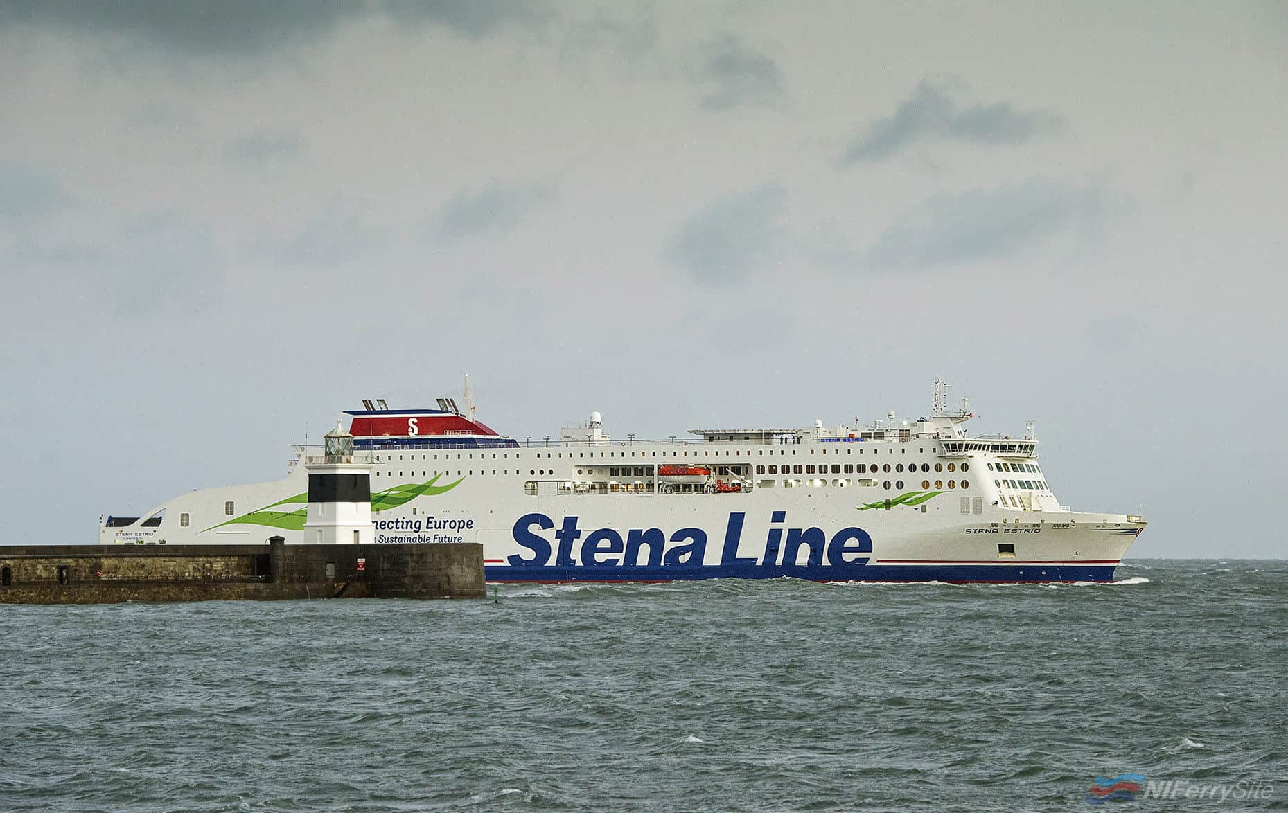 HOME AT LAST: STENA Line's newest ferry Stena Estrid arrived in Holyhead this morning (Monday) after a five-week 10,000 mile journey from the AVIC Weihai Shipyard in north-western China, where she was built. The first of five next generation Stena Line RoPax vessels to be completed at the shipyard, Stena Estrid sailed into the Welsh port at approximately 7.00am, following a brief stop in Dublin last night for a successful berthing trial. Now Estrid will undergo final preparations before starting service on the Holyhead to Dublin route in mid-January.