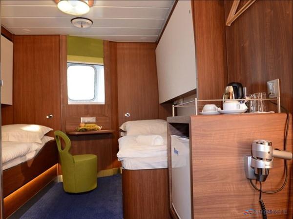 Comfort Class cabin on Stena Lagan/Stena Mersey. Stena Line.