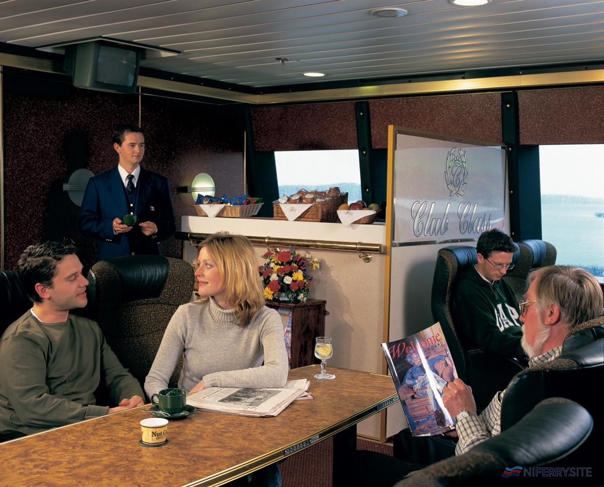 Club Class, <strong>SUPERSTAR EXPRESS</strong> P&O Irish Sea.