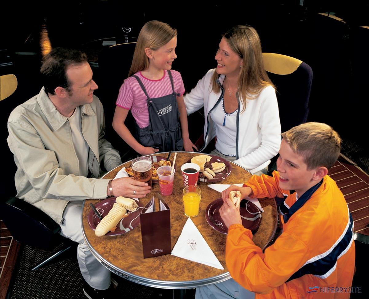 Fables Restaurant, <strong>SUPERSTAR EXPRESS</strong> P&O Irish Sea.