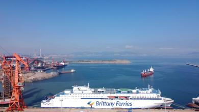 Photo of Brittany Ferries First New E-Flexer Ferry Delivered