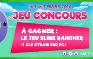 Concours : Slime Rancher à gagner