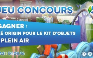 Concours Les SIms 4