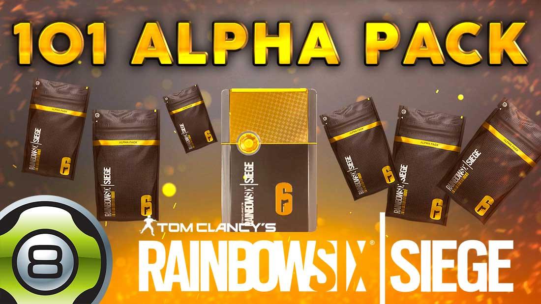 Alpha Pack Rainbow Six Siege
