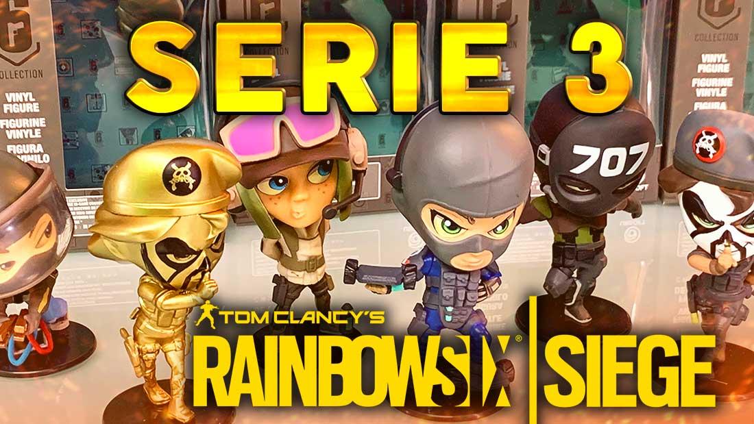 NOUVELLES FIGURINES SERIE 3 : Caveira, Bandit, Vigil, Ela & Twitch - Rainbow Six Siege (Unboxing)