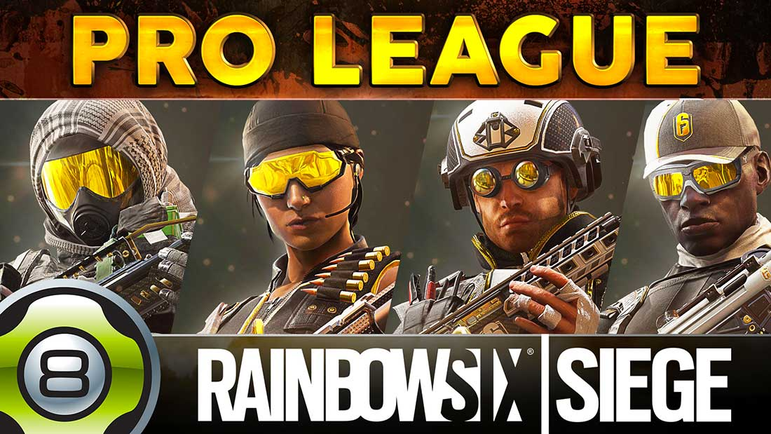 PRO LEAGUE pour Thermite, Wamai, Kali & Fuze- Rainbow Six Siege FR