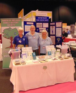 NIFHS Stall - Maggie Lyttle, Robert Guthrie, Anne Johnston