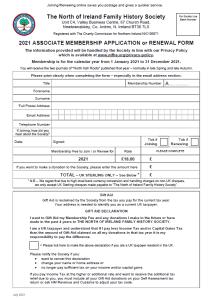 Associate Membership Offline Form