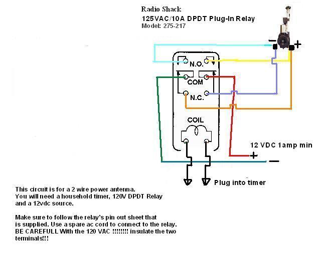 Generous Aftermarket Power Antenna Wiring Diagram Contemporary ...
