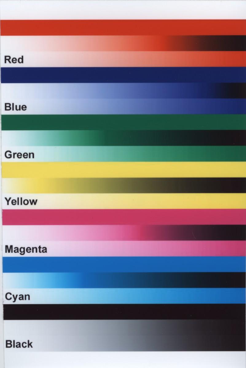 color laser printer test page futpal com ink colour test