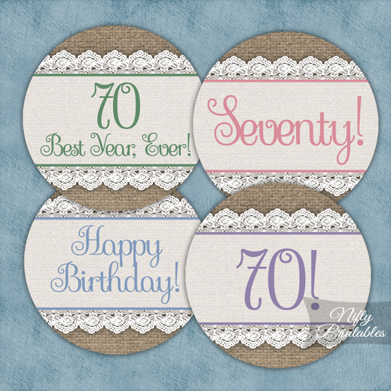 Birthday Invitations 70 Years Old
