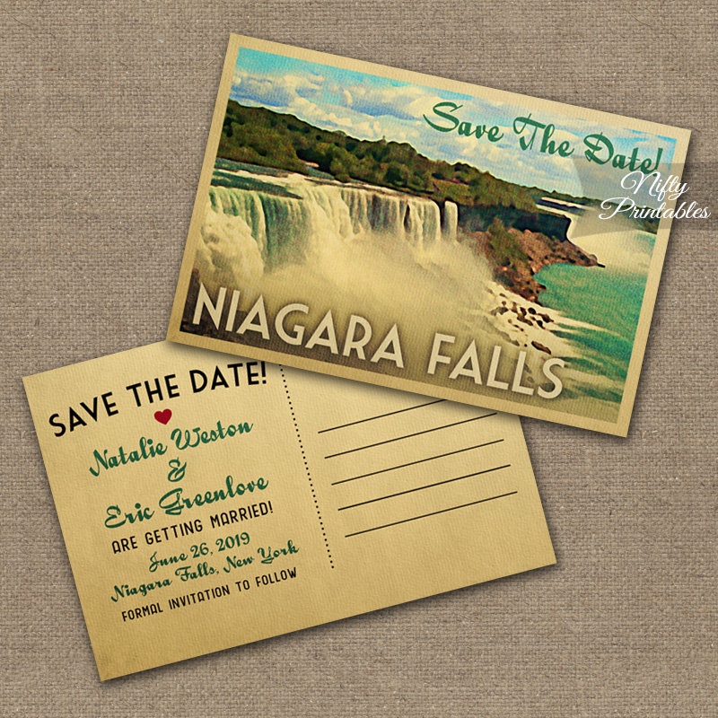 Save Date Cards Canada