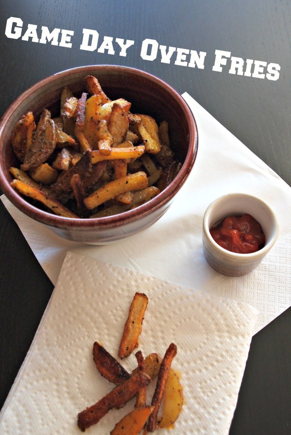 Crispy Oven Fries! Perfect for Game Day