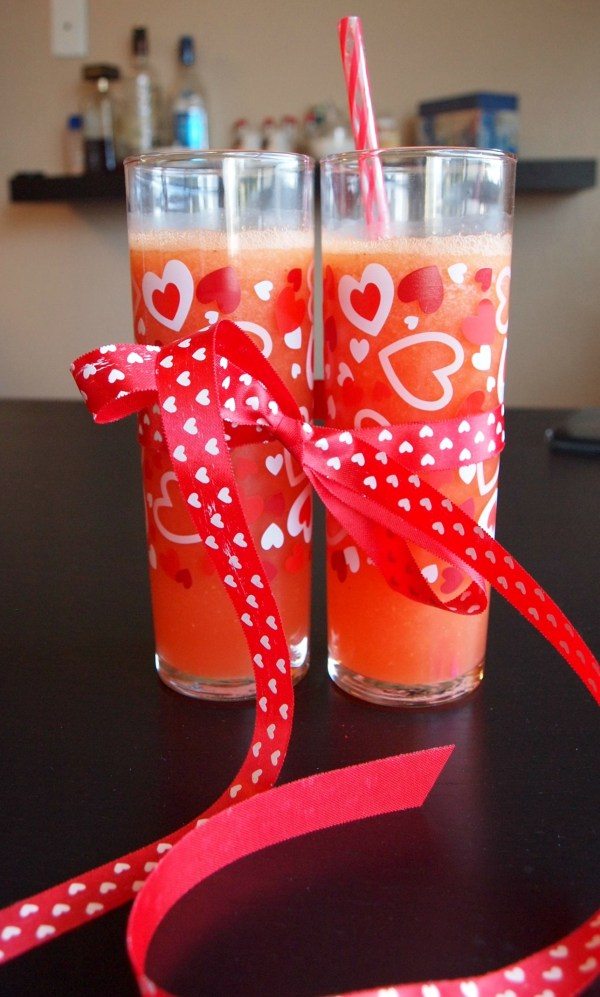 Valentine's Day Love Potion Grapefruit Peach Crush