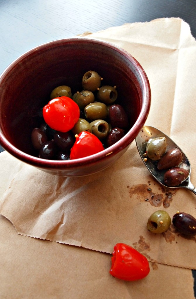 Olives and Peppers