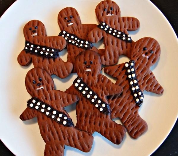 Chocolate Chewbacca Www Dunmorecandykitchen Com: Wookie Cookies: Happy Star Wars Day!