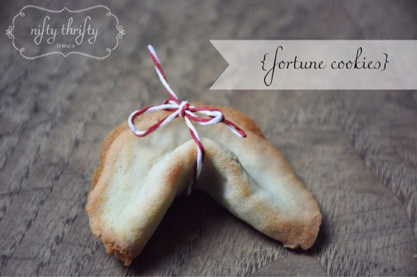 fortune cookie from {nifty thrifty things}