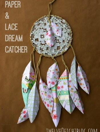paper feather dream catcher main
