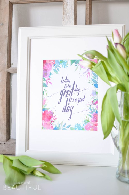 10 Beautiful Spring Printables at {nifty thrifty things}