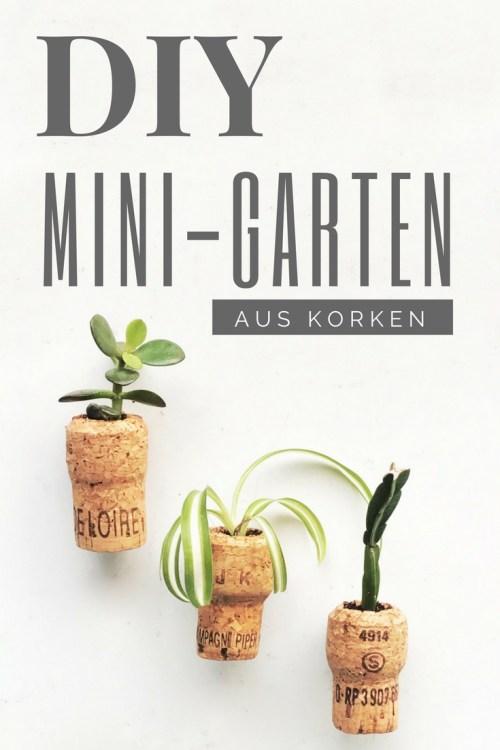 DIY Mini-Garten aus Korken von {nifty thrifty things}