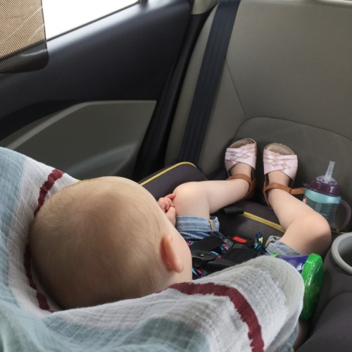 Summer Safety Tips for Traveling with Kids - Why it's important to never leave your kids alone in the car and how to prevent a heatstroke. Read more on {nifty thrifty things}