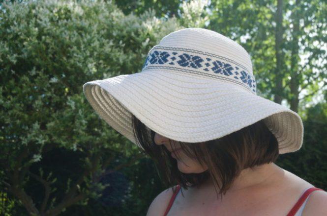 Ręcznie tkana taśma dekoracyjna do kapelusza