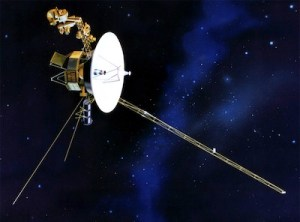 Voyager 1 as it exits the solar system (NASA)