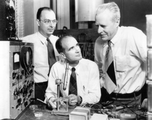 Bardeen, Shockley, and Brattain, 1948