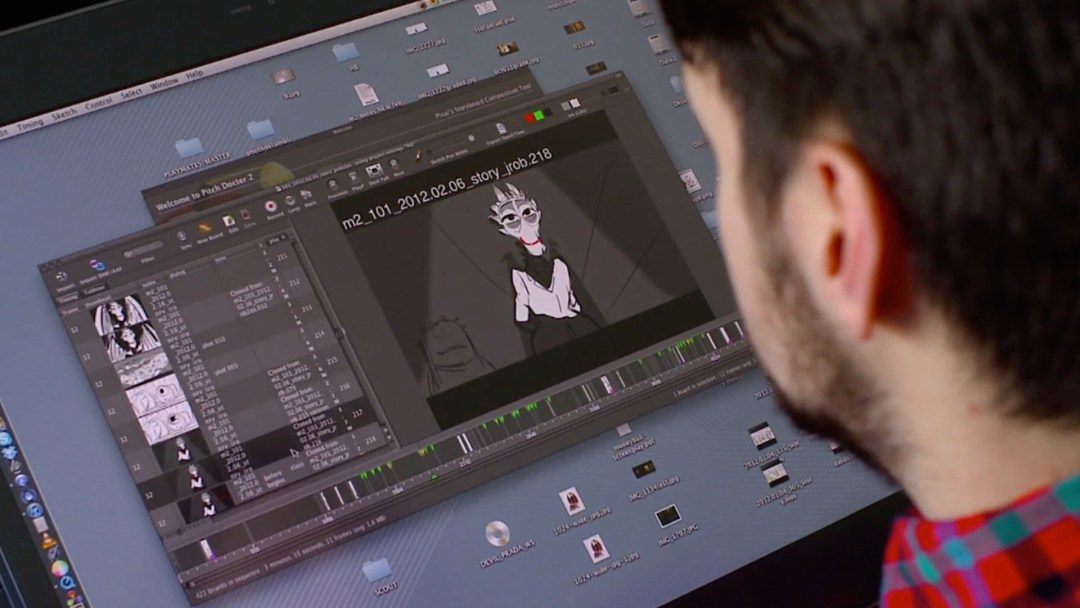 Animating Dean Hardscrabble. Monsters University Behind the scenes