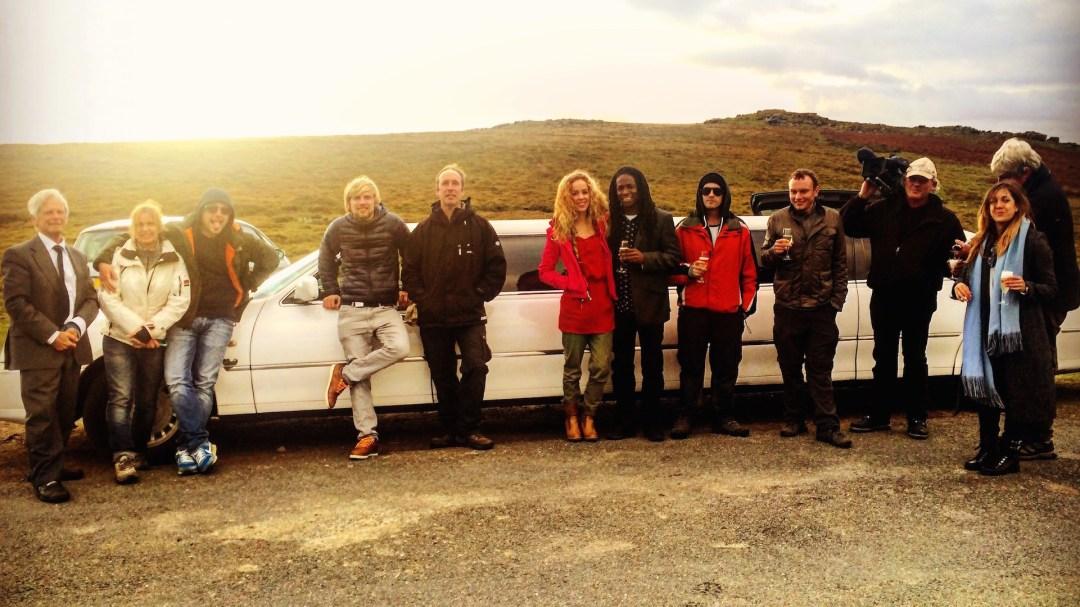 Crew of 'The Good Dinosaur - Access All Areas' Filmed in Dartmoor