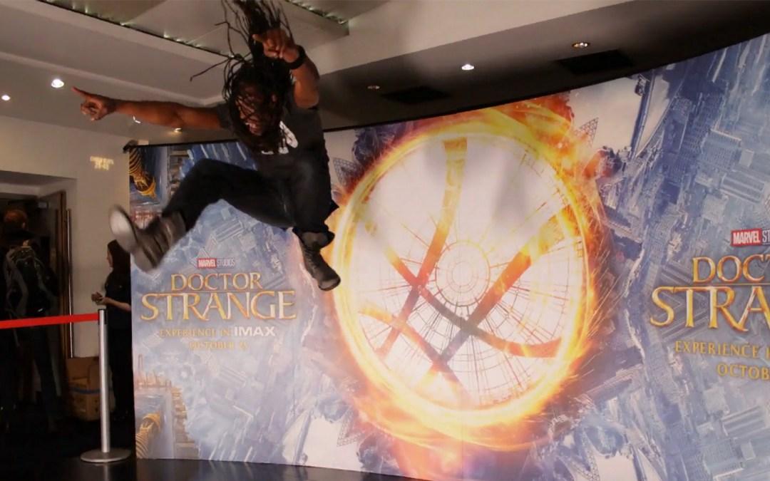 Dr Strange UK Premiere