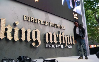 King Arthur European Premiere and Competition