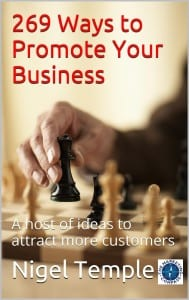 269 ways to promote your business by Nigel Temple Ver2