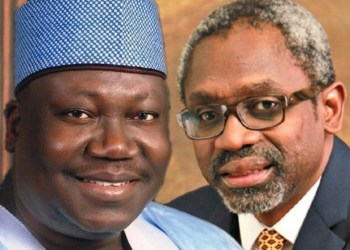 Senate President, Dr Ahmad Lawan Lawan and Speaker, House of Representatives, Mr Femi Gbajabiamila