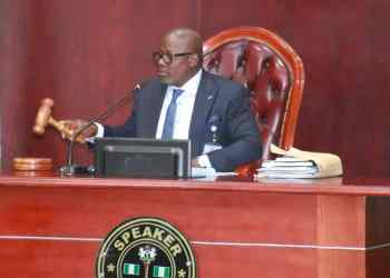 Delta State House of Assembly Speaker, Rt. Hon. Sheriff Oborevwori
