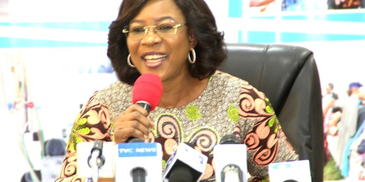 Wife of the Delta State Governor, Mrs Edith Okowa