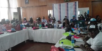 Journalists during the media engagement at Premier Hotel in Ibadan