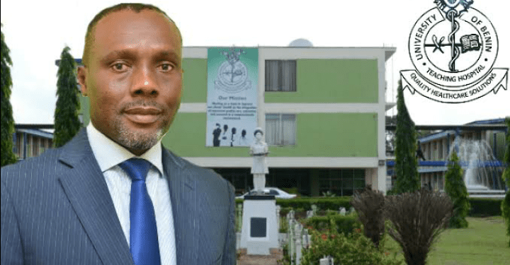UBTH Medical Director, Prof. Darlington Obaseki